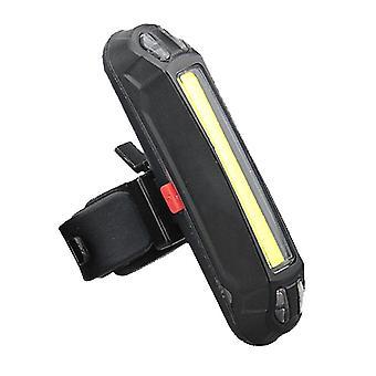 Cykelindikatorlampe med USB-opladningsfunktion, 3 farver cykelhalelys kan