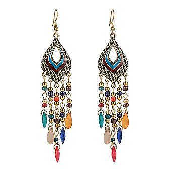 Boucles d'oreilles Hollow Water Drop Perles Alliage Bijoux pour la cérémonie