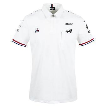 2021 Alpine Polo Shirt (White)