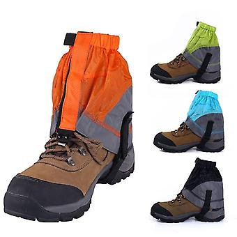 Silicon coated nylon snow leg gaiters waterproof ultralight legging protection guard shoes boots cover leg hiking climb