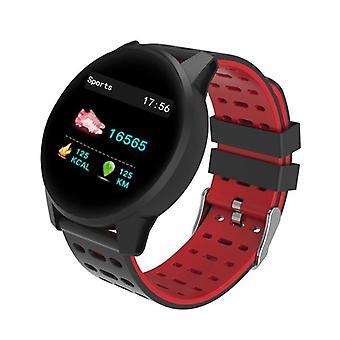 KY108 1,3 'HR Blut Sauerstoffdruck Schlaf Monitor IP67 Lange Stangby Multi-Sport Smart Watch RED