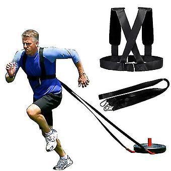 Полосы сопротивления с отягощениями Плечевой ремень для скоростных тренировок Бег Упражнение Тренировка Расширитель