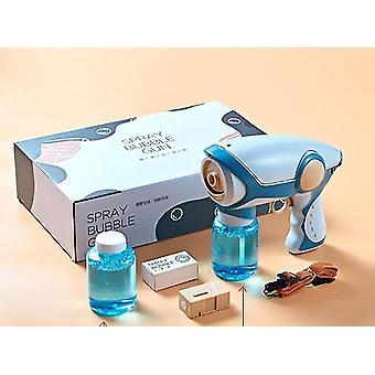 Pistolet automatique électrique de fabricant de souffleur de bulle - enfants extérieurs