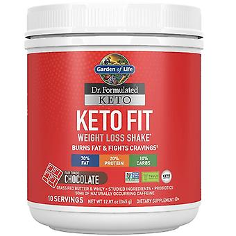 Dr. Formulated Keto Fit, Chocolate - 365 grams