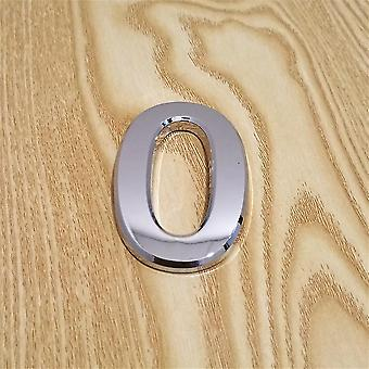 Numero di targa d'argento moderno per l'indirizzo della casa / hotel