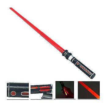 Teleskoplyssværd - Lysende Musik Star Laser Sværd Legetøj