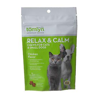 Tomlyn Relax & Calm Chews - Small Dog/Cat - 30 Pack