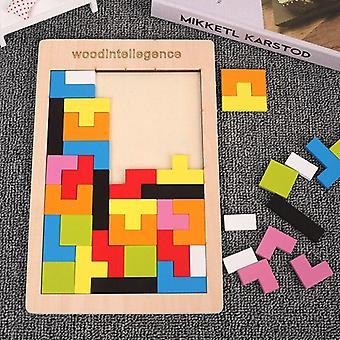 Wooden Puzzle Educational Toys For Children 3 Years Kids Pre School  Math Toy|Puzzles
