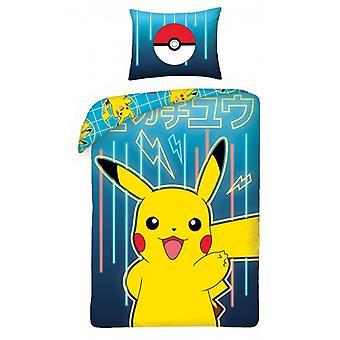 Juego de funda nórdica Pokemon