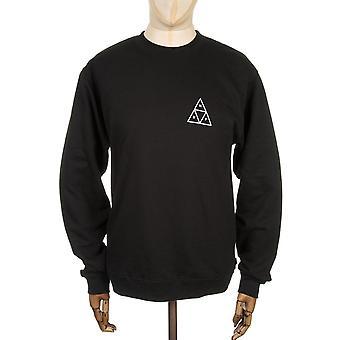 Huf Triple Triangle Sweatshirt - Black