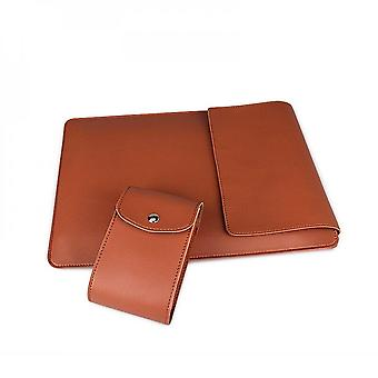 Pu Leather Laptop Case With Stand