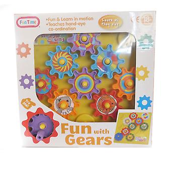 Funtime Fun With Gears Childrens Activity Set Fun Kids Baby Toddler