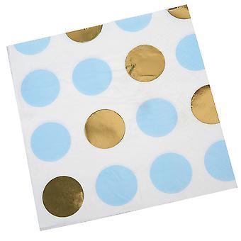 Pattern Works - Serviette Blue Dots