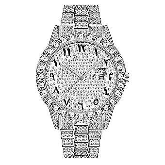 Watches waterproof watch men top brand luxury watch analog quartz watch men|quartz watches silver