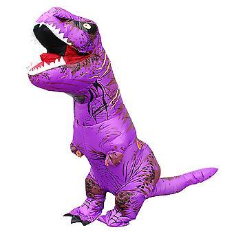 Purple Children Tyrannosaurus Rex Inflatable Clothing Children's Dinosaur Costume