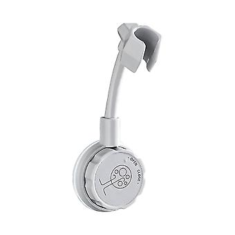 Adjustable Rotating Shower Head Wall-mounted Bracket Punch-free Shower Rack