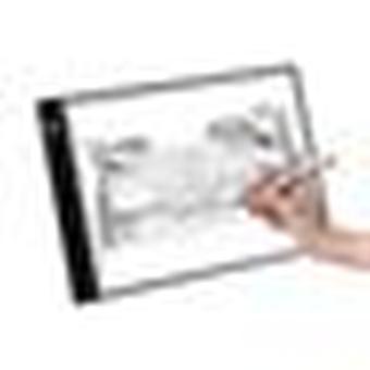 A4 Ultra-mince Led Light Box Tracer Copy Board Painting Board 3 niveaux de luminosité Luminosité réglable