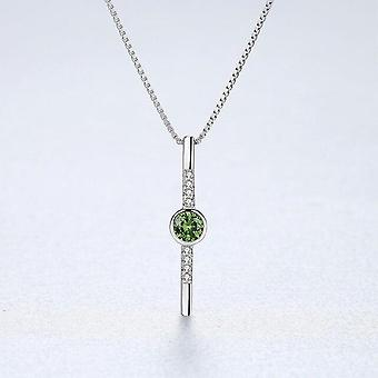 DOTEFFIL New Design High Quality 925 Sterling Silver Pendant Necklace For  Jewelry|Necklaces