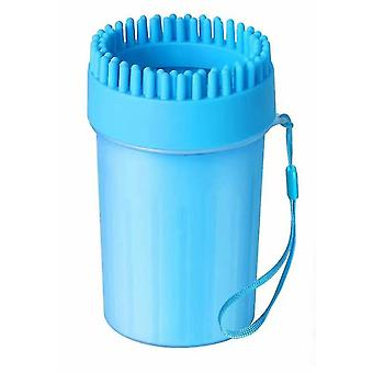 Dog Paw Cleaner Paw Cleaner, Portable Dog Paw Grooming, Pet Dog Paw Scrubber Ideal For Active Dogs (24cm)