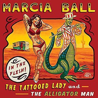 Marcia Ball - import tätowierte Lady & den Alligator Mann [CD]-USA