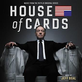 Jeff Beal - House of Cards [Music From the Netflix Original Series] [CD] USA import
