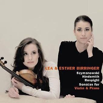 Szymanowski/Birringer, L./Birringer, E. - Sonatas for Violin & Piano [CD] USA import