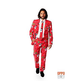 Opposuit Christian master Xmas Christmas suit slimline Premium 3-piece EU SIZES