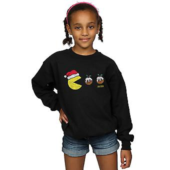 Pacman Girls Christmas Puddings Sweatshirt
