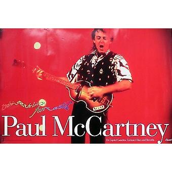 Paul McCartney snubbla det levande Fantastiskt