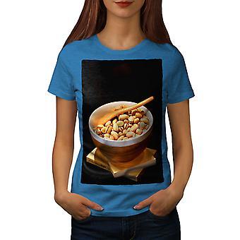 Pistachio Nuts Photo Women Royal BlueT-shirt | Wellcoda