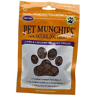 Pet Munchies Liver and Chicken Training Dog Treat