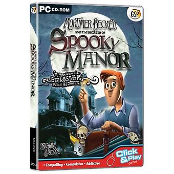 Mortimer Beckett and the Secrets of Spooky Manor (CD PC) - Nouveau