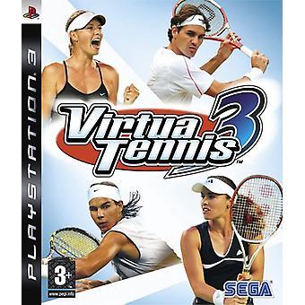 Virtua Tennis 3 (PS3) - Uusi