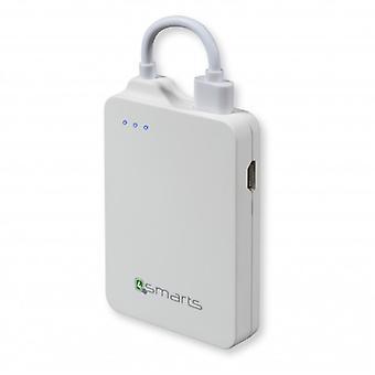 4Smarts универсальная мощность банка зарядки станции 1600 мАч белый