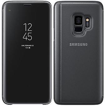 Samsung vende Pocket klar utsikt stående dekke EF ZG960CBEGWW for Galaxy S9 G960F svart