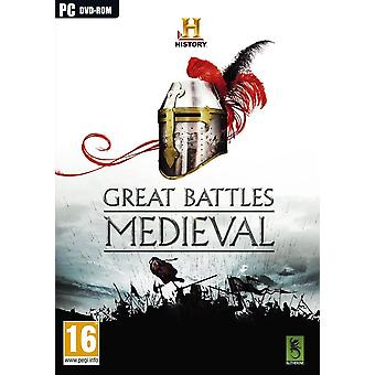 Great Battles Medieval PC CD Game