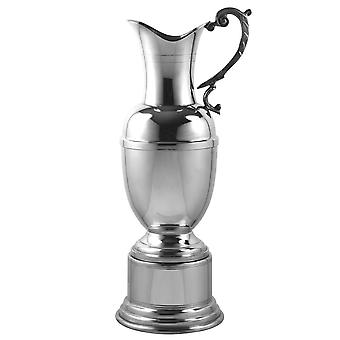 Claret Jug In Pewter - 11