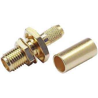 Telegärtner J01151A0001 SMA-Stecker Sockel, gerade 50 x 1 Stk.