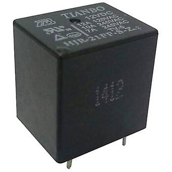 Tianbo Electronics HJR-21FF-S-Z 12VDC PCB relay 12 V DC 15 A 1 change-over 1 pc(s)