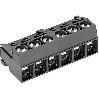 Caja zócalo PTR - cable AK130 número de espaciamiento de pernos 4 contacto: PC 5 m m 50130040001G 1