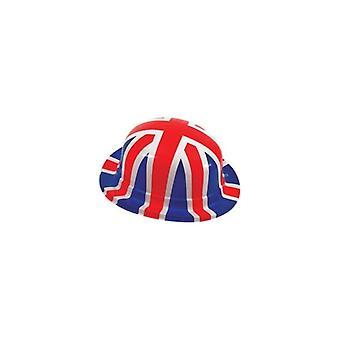 Union Jack porter Pack de 6 chapeaux melon d'Union Jack