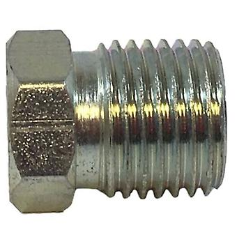 Big A Service Line 3-121049 Steel Inverted Hex Nut 3/16