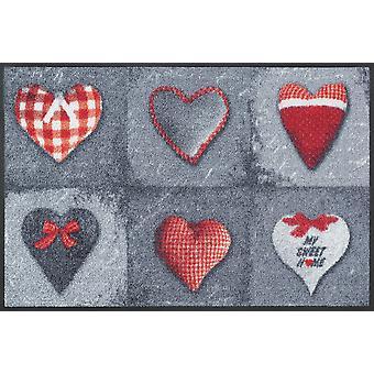ma douce maison grise lavables tapis tapis de lavage + plancher sec