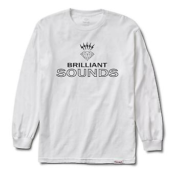 Diamond Supply Co Diamond Records L/S T-shirt White