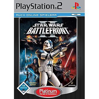 Star Wars Battlefront 2 Platinum (PS2)-nytt
