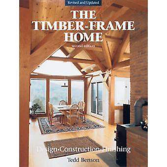 De nieuwbouw van hout skelet Home - ontwerp- en afwerking (2e e