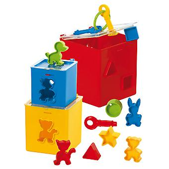 Gowi Toys Educational Locking Puzzle Box Play Set