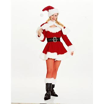 Miss Santa Adult Costume