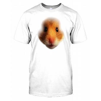 Kanin Pet Rabbit Face Mens Tee