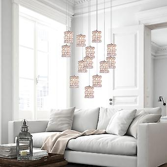 Modern Cubicus Ceiling Light LED Pendant Lamp Dining Room 13 Pendant Round Canopy